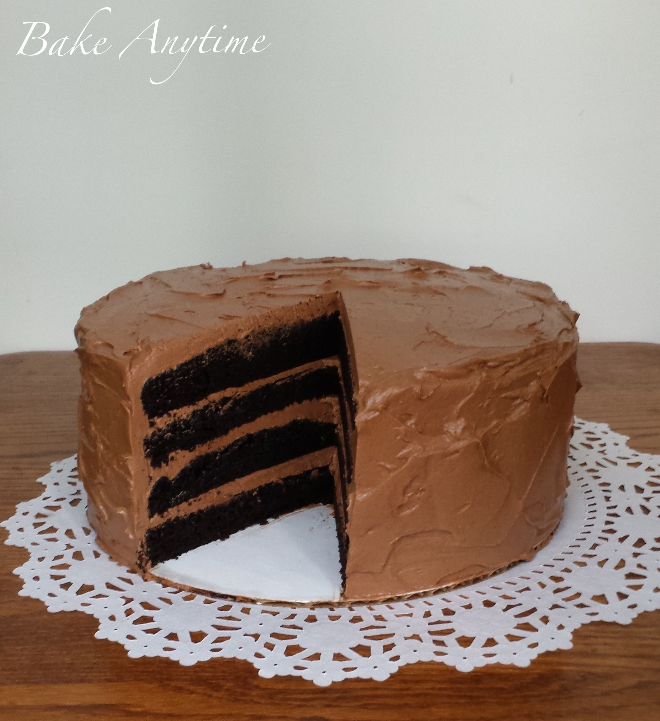 Penzeys Recipe Vegan Chocolate Cake
