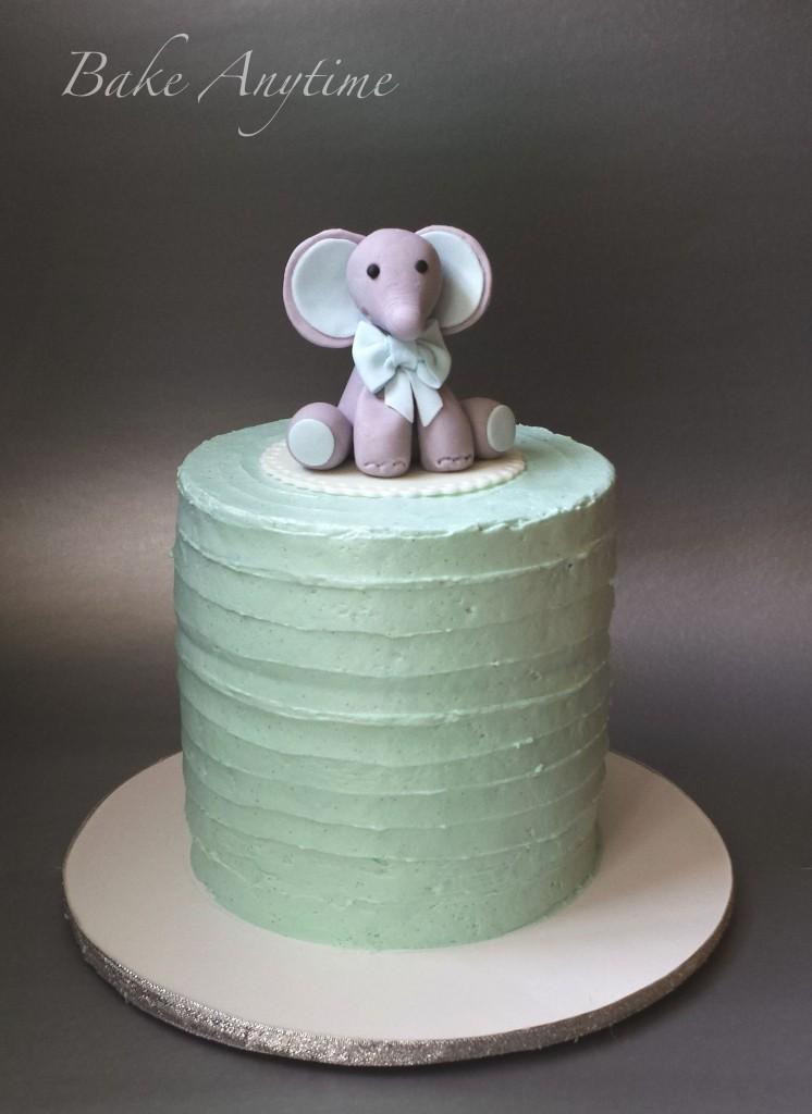 How To Make A Baby Shower Cake For A Boy